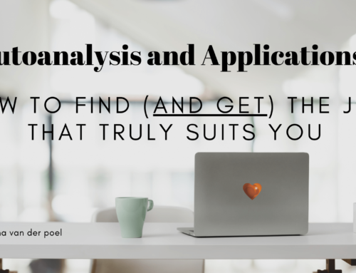 Autoanalysis and Applications: How to Find (and Get) the Job that Truly Suits You
