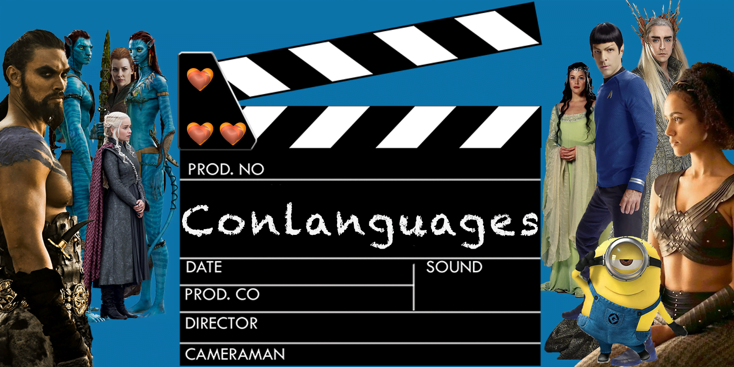 What are conlanguages?