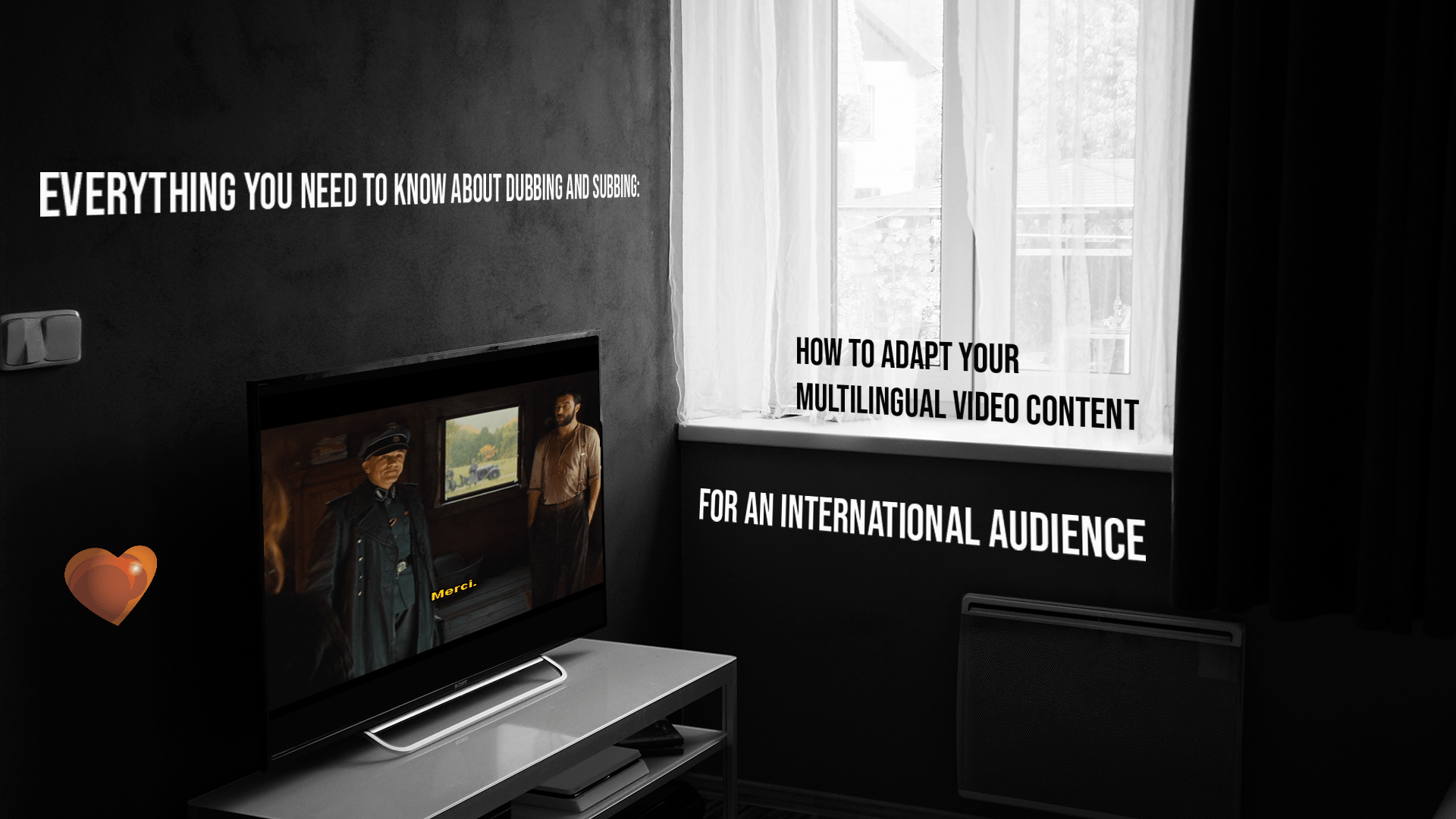 Everything You Need to Know about Dubbing and Subbing: How to Adapt Your Multilingual Video Content for an International Audience - Watching Quentin Tarantino's Inglourious Basterds on TV