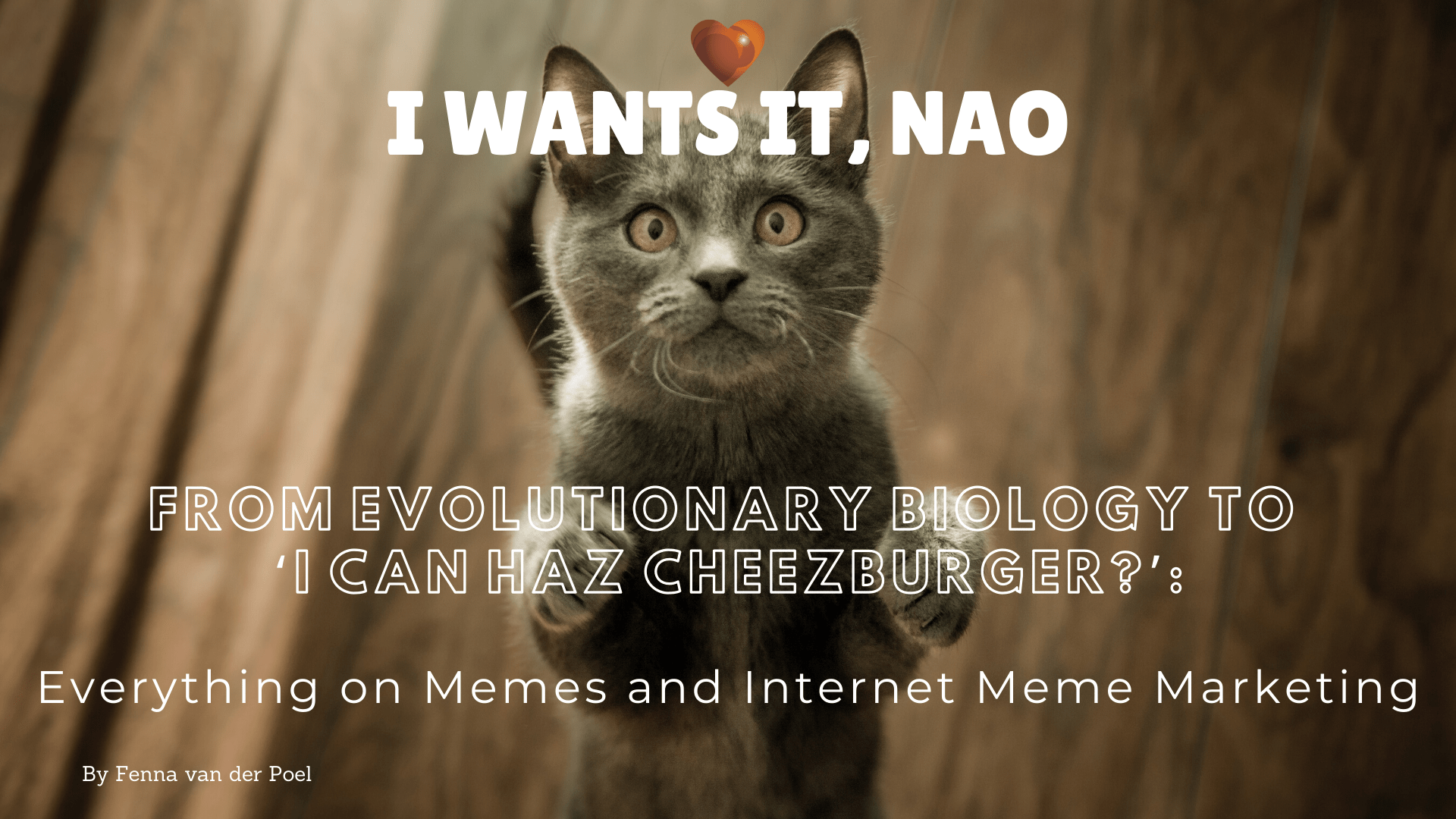 From Evolutionary Biology to 'Can I Haz Cheezburger_'_ Everything on Memes and Internet Meme Marketing