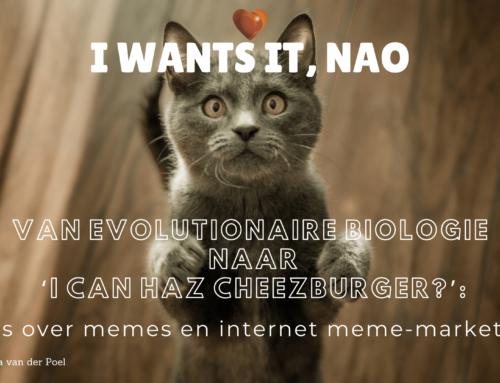 Van evolutionaire biologie naar 'I Can Haz Cheezburger?'