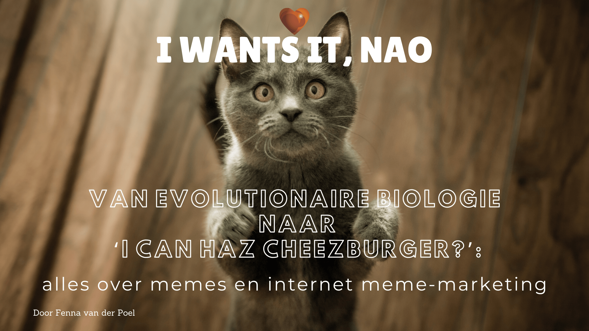 Van evolutionaire biologie naar 'I Can Haz Cheezburger_'_ alles over memes en internet meme-marketing